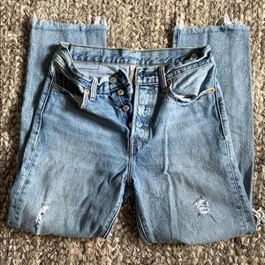 Levi's Jeans 501 cropped  | Sizes: 27